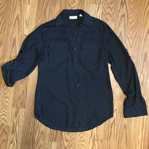🎉3/$15 SALE! York and Company Blouse Sz XS